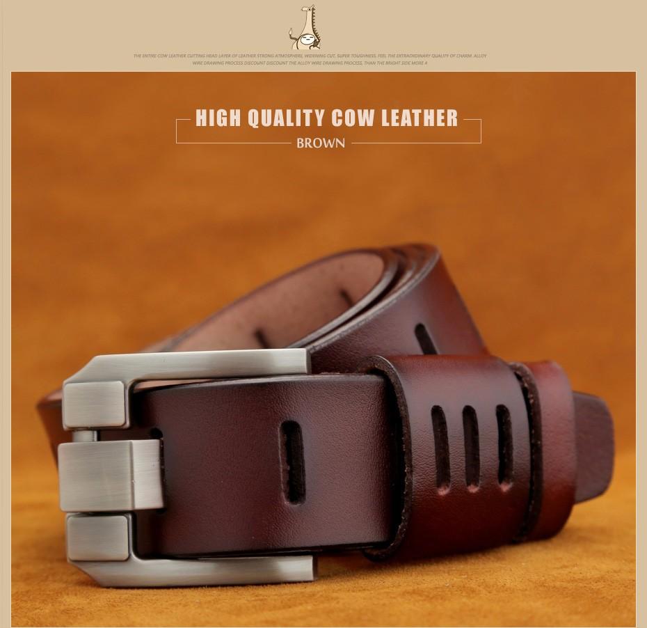 [Miluota] pasy designer mężczyźni wysokiej jakości prawdziwy skórzany pas dla mężczyzn luksusowe ceinture homme military style 130 cm mu012 10