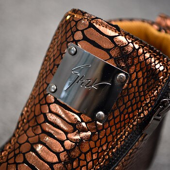 c70c16e484 2019 Men Sequins High Top Men Gold Glitter Sneakers Bling