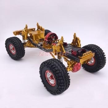 Cool Racing CNC 1/10 Scale Rock Crawler Truck Aluminum Axial SCX10