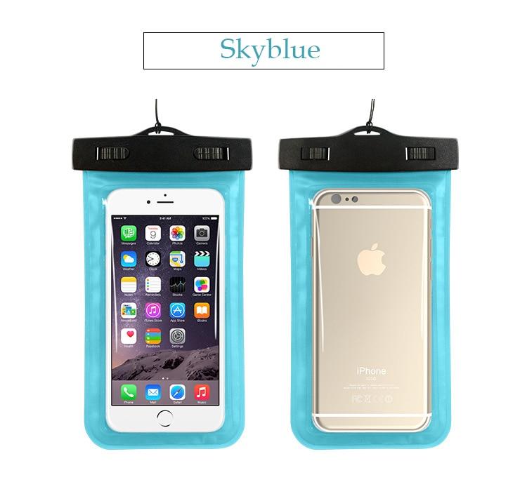 Tmalltide Uniwersalny Telefon Torby Etui z Paskiem Wodoodporne Przypadkach 5S Pokrowce na iPhone 6 6 S 7 Plus Skrzynki Pokrywa 26