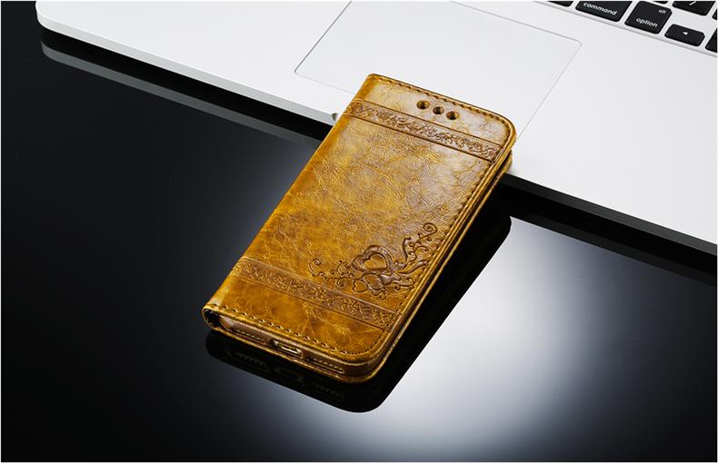 Skórzane etui z klapką telefon case for iphone 7 plus 6 s plus 5S 4S samsung galaxy S3 S4 S5 S6 S7 S8 Krawędzi Plus Uwaga 3 4 5 Karty Telefon torby 15