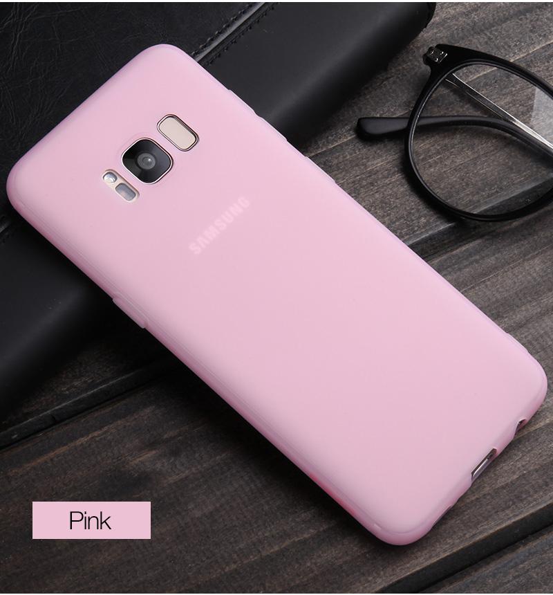 Cafele miękka tpu case do samsung s8/s8 plus sprawach slim powrót protect skóry ultra thin telefon pokrywa dla samsung galaxy s8 plus 15