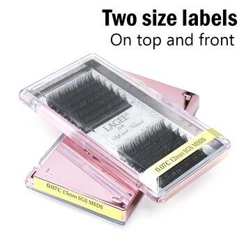 3a2a44c1fd4 15 Cases Individual Eyelashes Faux Mink Eyelash Extensions | Matt ...