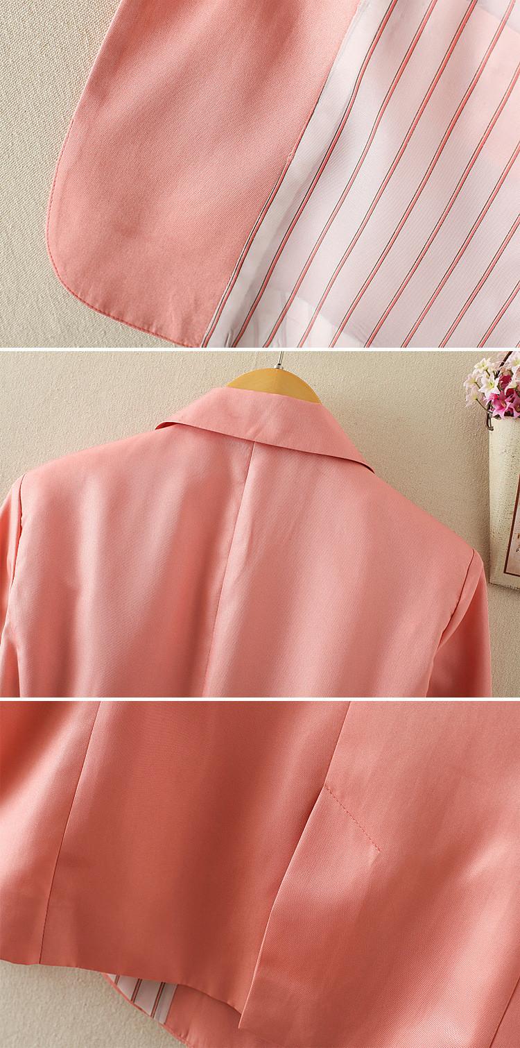 NOWY blazer kobiety kostiumu blezer składana marka kurtka wykonana z bawełny i elastanu z podszewką Vogue odśwież blazers 16