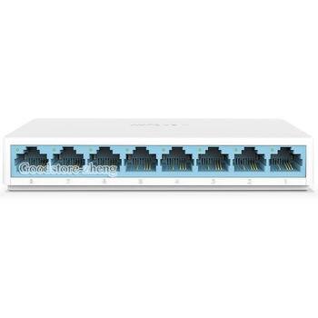 Mini S108C 8 Port RJ45 10/100Mbps Network Switch Desktop Switch