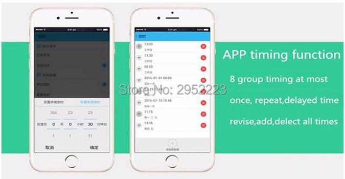 Sonoff Moduł Automatyki Inteligentnego Domu Wifi Przełącznik Uniwersalny Zegar Diy Przełącznika Bezprzewodowego Pilota zdalnego sterowania Poprzez IOS Android 10A/2200 W 5