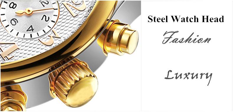 2017 Kinyued Skeleton Tourbillon Zegarek Mechaniczny Automatyczny Mężczyźni Klasyczne Rose Złota Skóra Mechaniczne Zegarki Reloj Hombre 12