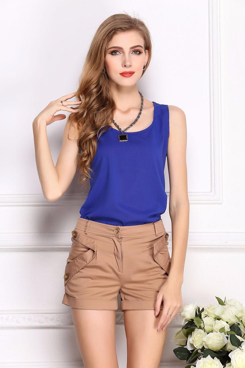 2017 moda popularne sexy szczupła marynarka clothing blusas bluzki damskie szyfonowa letnia lady bluzka/koszula 9 kolory topy ol bluzka 14