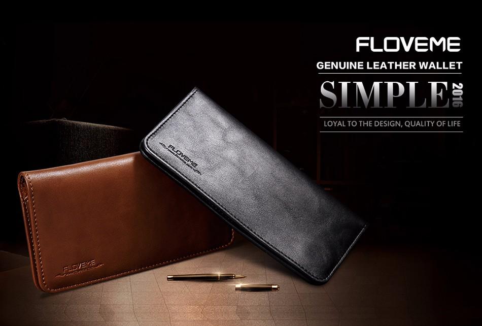 Floveme luksusowe retro skórzany portfel torby phone case do samsung s7 s6 s5 dla iphone 7 6 6 s plus se 5S 5 miękka pokrywa torebka marki 1