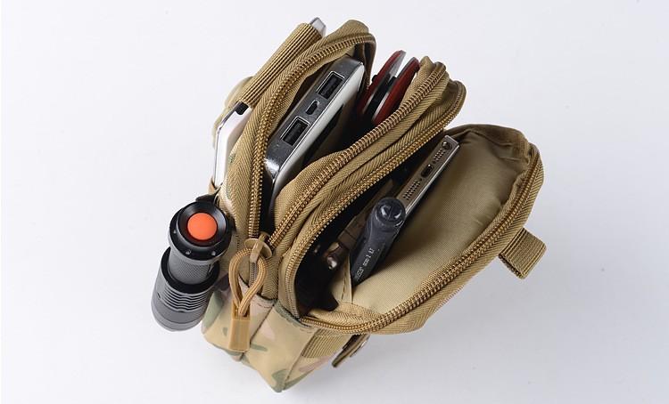 Uniwersalny Odkryty Wojskowy Molle Tactical Kabura Pasa Biodrowego Pasa Torba portfel kieszonki kiesy telefon etui z zamkiem błyskawicznym na iphone 7/lg 8