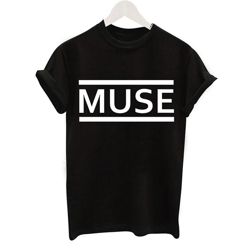 2016 Harajuku Czarny T-shirt Kobiety Panie Topy Jednorożec List Wydrukuj Casual Śmieszne Koszulki z krótkim rękawem Tee Shirt Femme Luźne 13