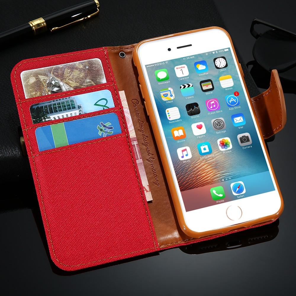 Kisscase stań portfel przerzuć przypadki dla iphone 6 6s 7 5 5S mody hit kolor slot kart skóra pokrywa dla iphone 7 6 s plus z logo 43