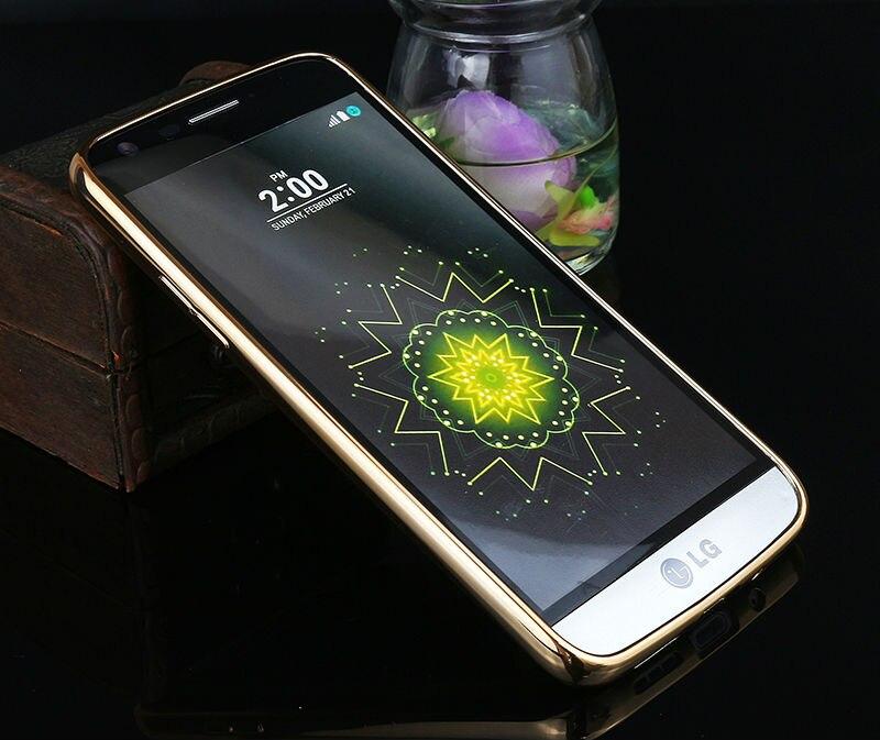 Sprawa silikonowy Do LG G4 G5 K5 K10 Pokrywa Przezroczysty Poszycia Złota Ultra Thin Miękkie Wyczyść Back Cover Dla LG G4 G5 K5 K10 Coque 10
