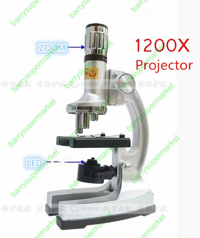 10X Students Children Biological Microscope Kit science experiments educational toys gift Explore the microscopic world