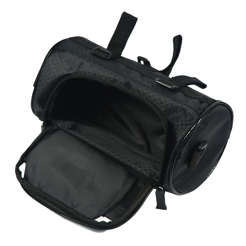 Wodoodporny Ekran Dotykowy Sakwy Rowerowe Rower Górski Rower Torby Phone Bag Case Rower Szosowy Rura Przednia Kierownica Torba Cylindra 38