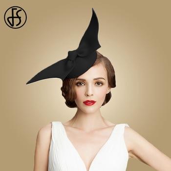 ba8e8092 Fascinator Hats For Women Red Black 100% Wool Pillbox Wedding ...