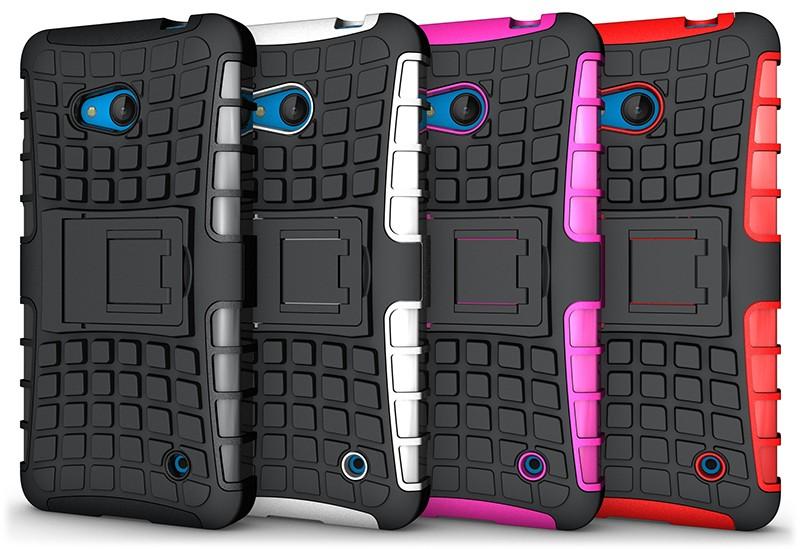 Uchwyt hybrid armor case dla microsoft lumia 650 640 635 630 case tpu obudowa odporna na wstrząsy pokrywa dla nokia lumia 635 640 650 case 30
