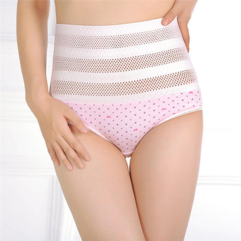 1pswomen's wysokiej talii majtki brzucha po porodzie matki bliscy underwear kontrola brzucha body shaper figi l-xxl nago/różowy 13