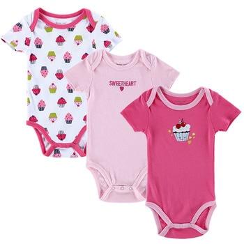 b50b73e81dbd94 Hoge Kwaliteit 3 STKS/PARTIJ Baby Boy Kleding Pasgeboren Baby Romper Set Korte  Mouwen Katoenen. Chinese Rompers Leveranciers. Geslacht Unisex and