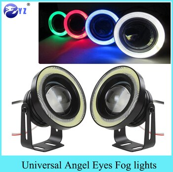 Running 3 5inch R500 Fog 3 2pcs Eyes Lights 2 5 0 Angel Drl Daytime dxBQoerCW