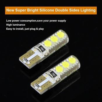 2 x T10 W5W T16 LED Parking Lights Sidelight Marker Lamps Bulb
