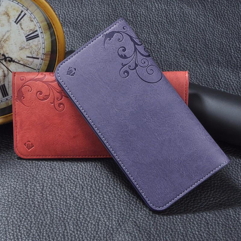5.5 Uniwersalny Vintage Odwróć Skórzany Portfel Etui Do IPhone 5 6 7 Plus dla HTC Huawei LG Sony Dla Samsung S4 S6 Krawędzi Uwaga 7 Case 15