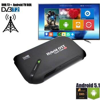DVB-T2 Android TV BOX Dual Mode Set Top Box TV Tuner OS Aandroid 5 1