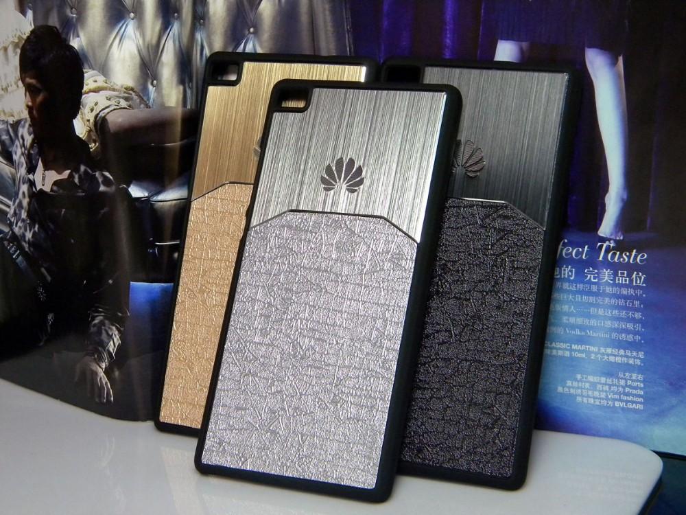 Dla huawei p8 lite case p9 lite plus honor 8 p9 pokrywy hybird Szczotkowanego aluminium Metal z Luksusowych Skóry materiał darmowa wysyłka 15
