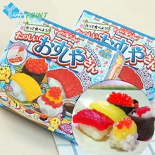diy japn import de aperitivos dulces cocinar popin kracie sudor sushi japons sushi alimentos dulces dulces