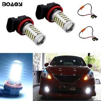 2x 9006/HB4 Car LED Light Bulb Auto Fog Light Lamps No Error