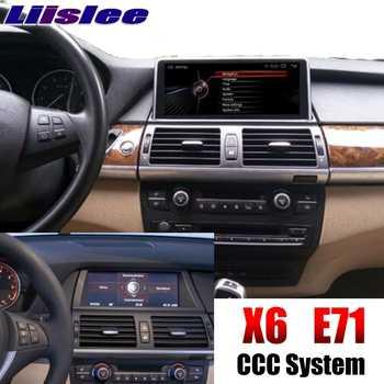 For BMW X6 E71 2008~2010 CCC EVO ID6 Car Multimedia GPS Audio Hi-Fi