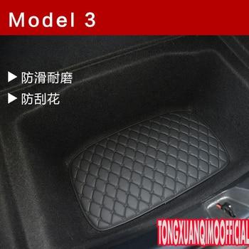 car Accessories for Tesla MODEL 3 rear trunk mats below layer pads