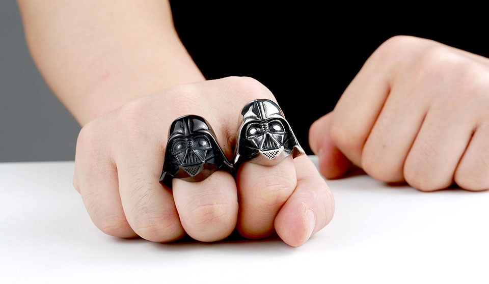 darth vader wedding ring wars darth vader mask ring oneshopexpress 3313