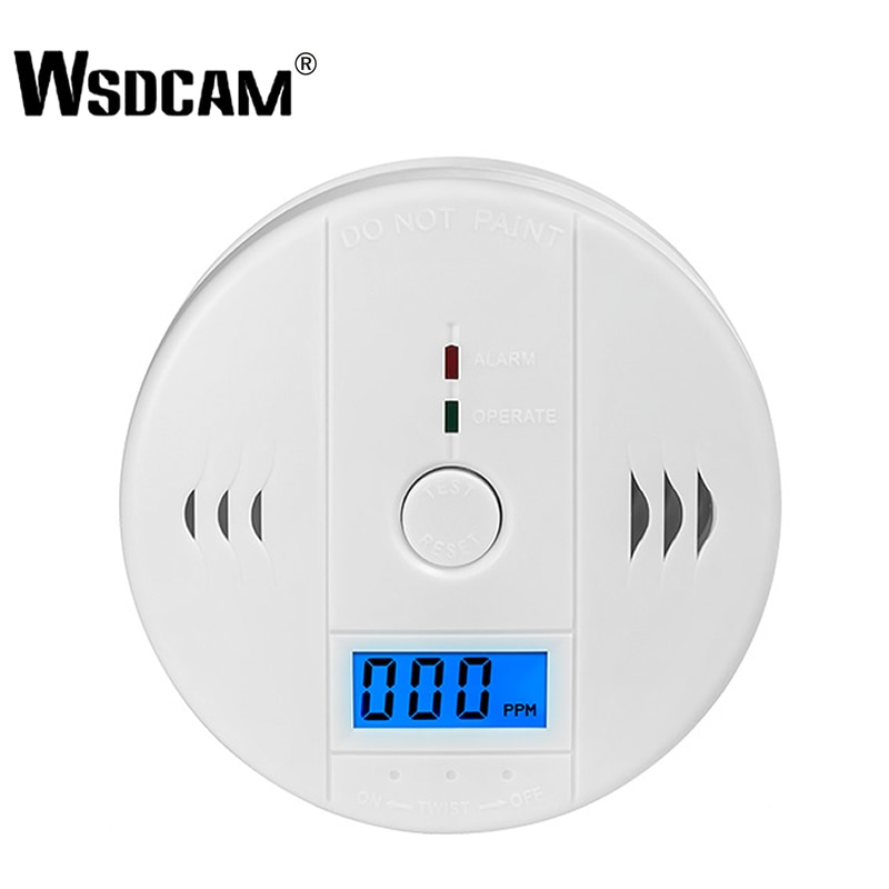 Intelligent 433mhz Wireless Smoke Detector For Fire Alarm Sensor Can Work With Gsm Alarm System Fire Protection 2pcs Sm-100