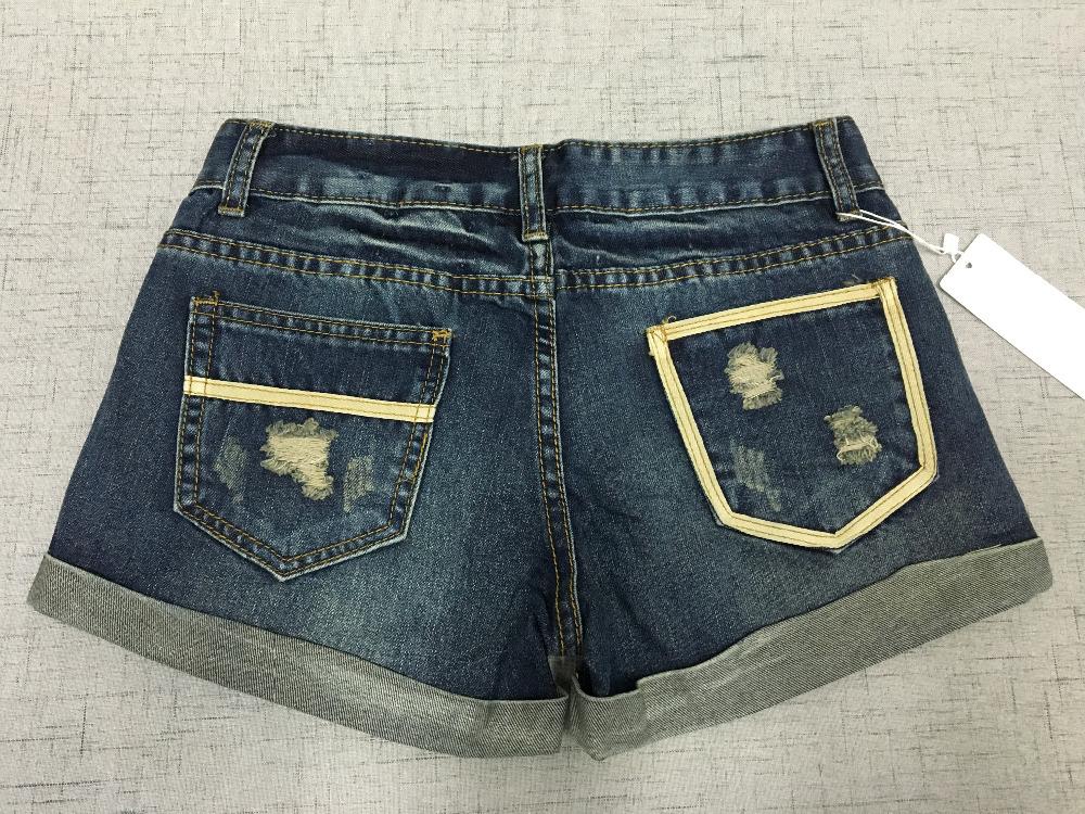 Vintage Club Denim Ripped Shorts 5