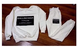 2 Sztuk Zestaw Kobiety Chusta Bluza + Spodnie Dresowe Spodnie Dorywczo Sportwear Garnitur Potu 16