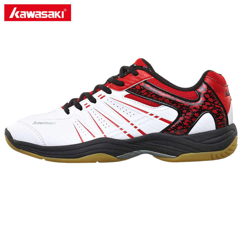 Kawasaki Professional Badminton Shoes 2017 Breathable Anti-Slippery Sport Shoes for Men Women Sneakers K-063