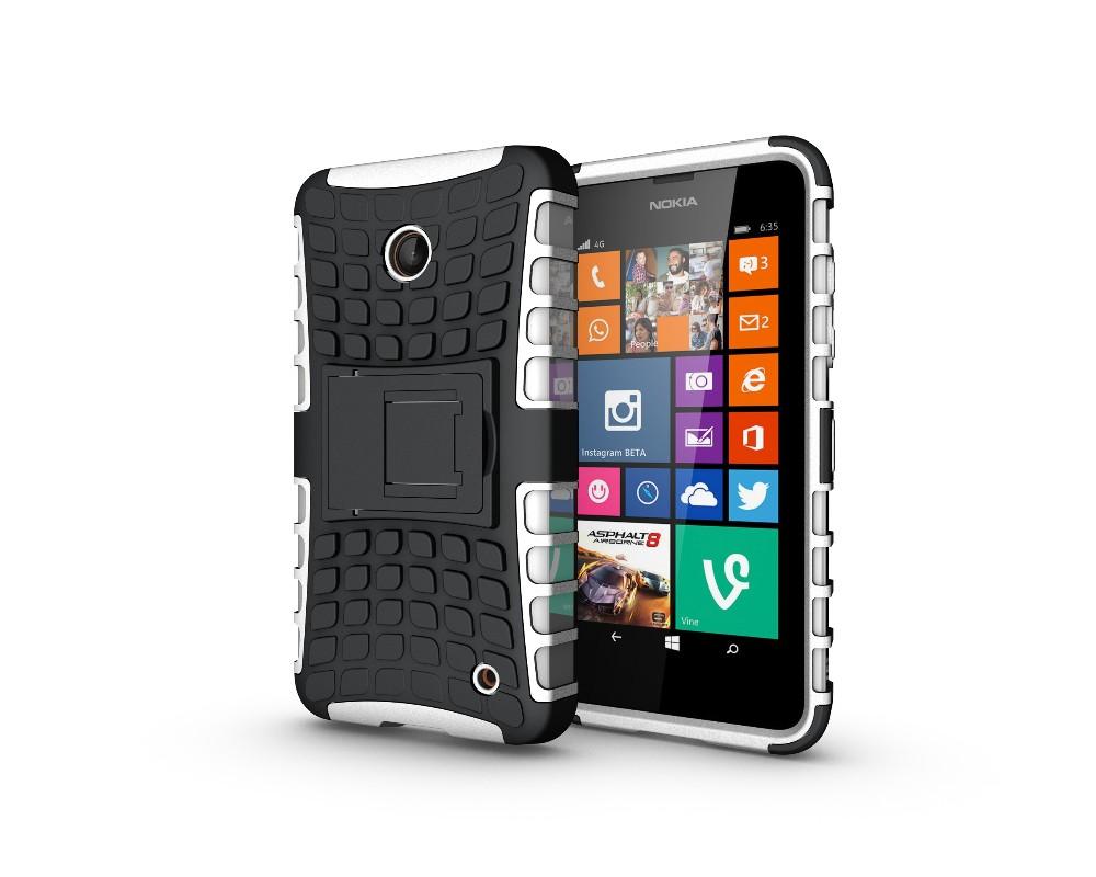 Uchwyt hybrid armor case dla microsoft lumia 650 640 635 630 case tpu obudowa odporna na wstrząsy pokrywa dla nokia lumia 635 640 650 case 25
