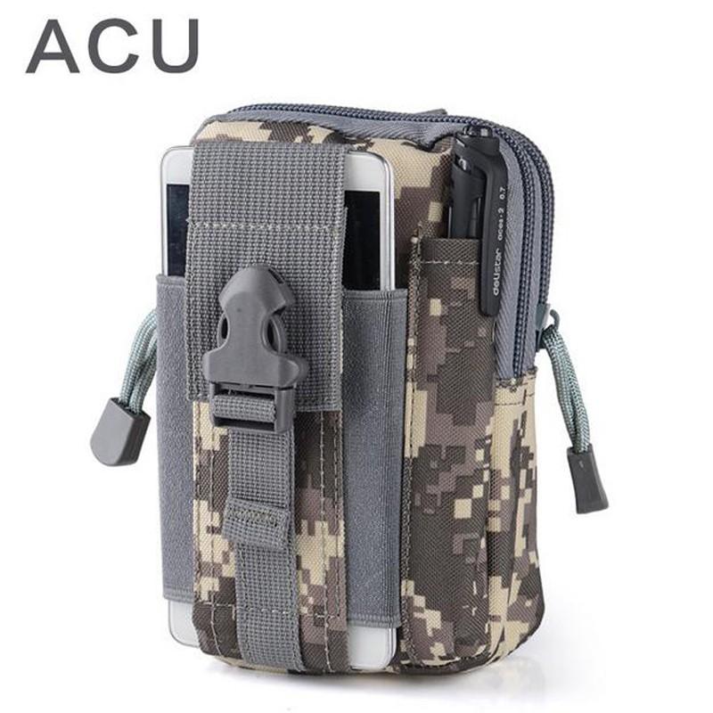 Uniwersalny Odkryty Wojskowy Molle Tactical Kabura Pasa Biodrowego Pasa Torba portfel kieszonki kiesy telefon etui z zamkiem błyskawicznym na iphone 7/lg 29
