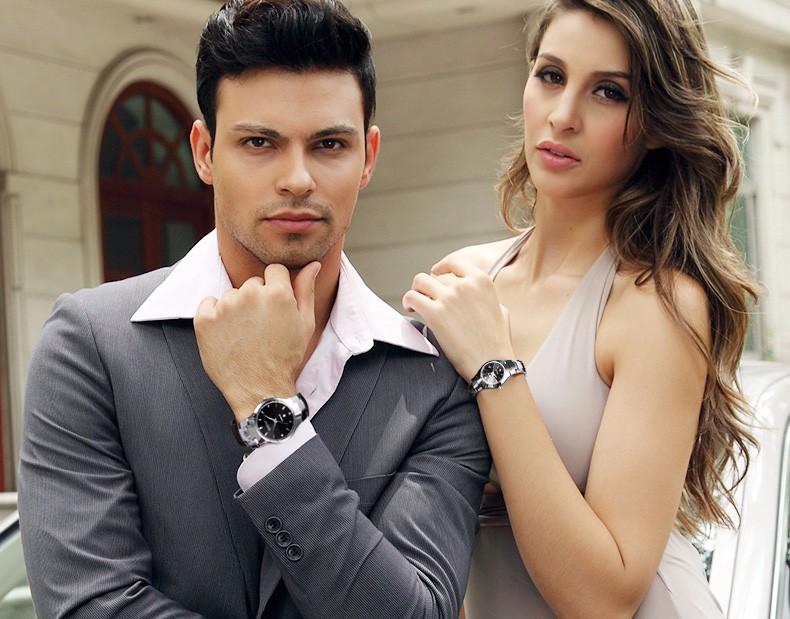 Hk dom luksusowe top marka męska zegarek wolframu stal wrist watch wodoodporna biznesu kwarcowy zegarek fashion casual sport watch 24