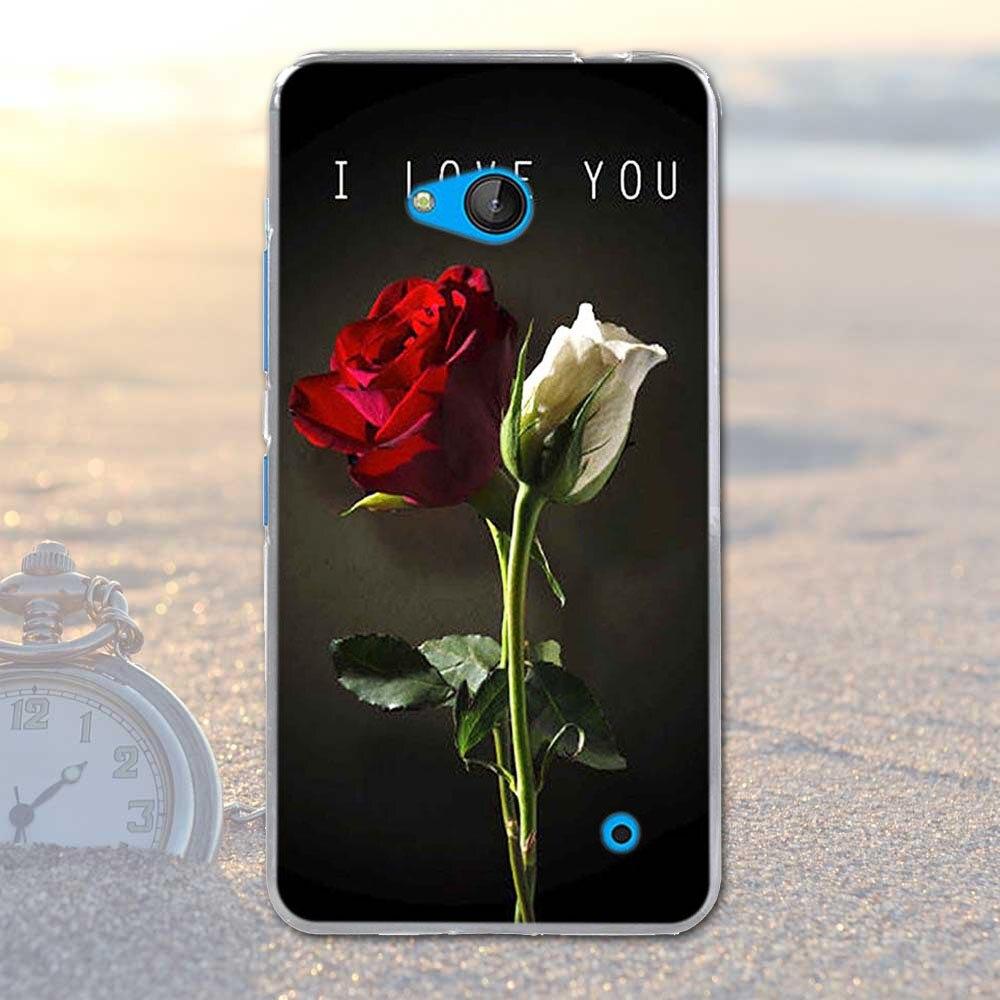 Coque dla nokia 640 case pokrywa dla nokia microsoft lumia 640 silikonowe cell phone case miękka tpu shell dla nokia 640 lumia 640 torba 24