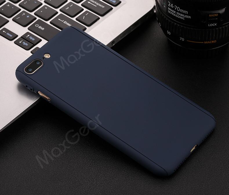 Luksusowe Piano Black 360 Stopni Ciężka PECET Skrzynki Dla Apple iPhone 5 5S SE 6 6 S 7 Plus Szczupła Całe Ciało Pokrywa Capa + Szklany Ekran Protector 24
