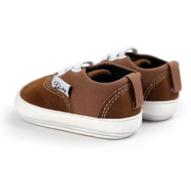 Wiosna Jesień Dziecko Noworodka Dziewczynka Chłopiec Miękkie Podeszwy antypoślizgowe Maluch Prewalker Niemowląt Sneaker Buty Na Co Dzień 11