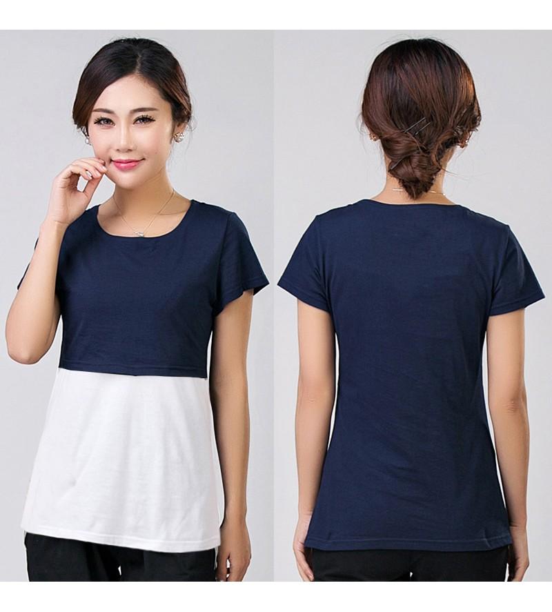 2016 lato macierzyństwo pielęgniarstwa ubrania kobiet w ciąży karmienie piersią karmienie piersią nakrywa trójniki t-shirt maxi premama nosić clothing 10