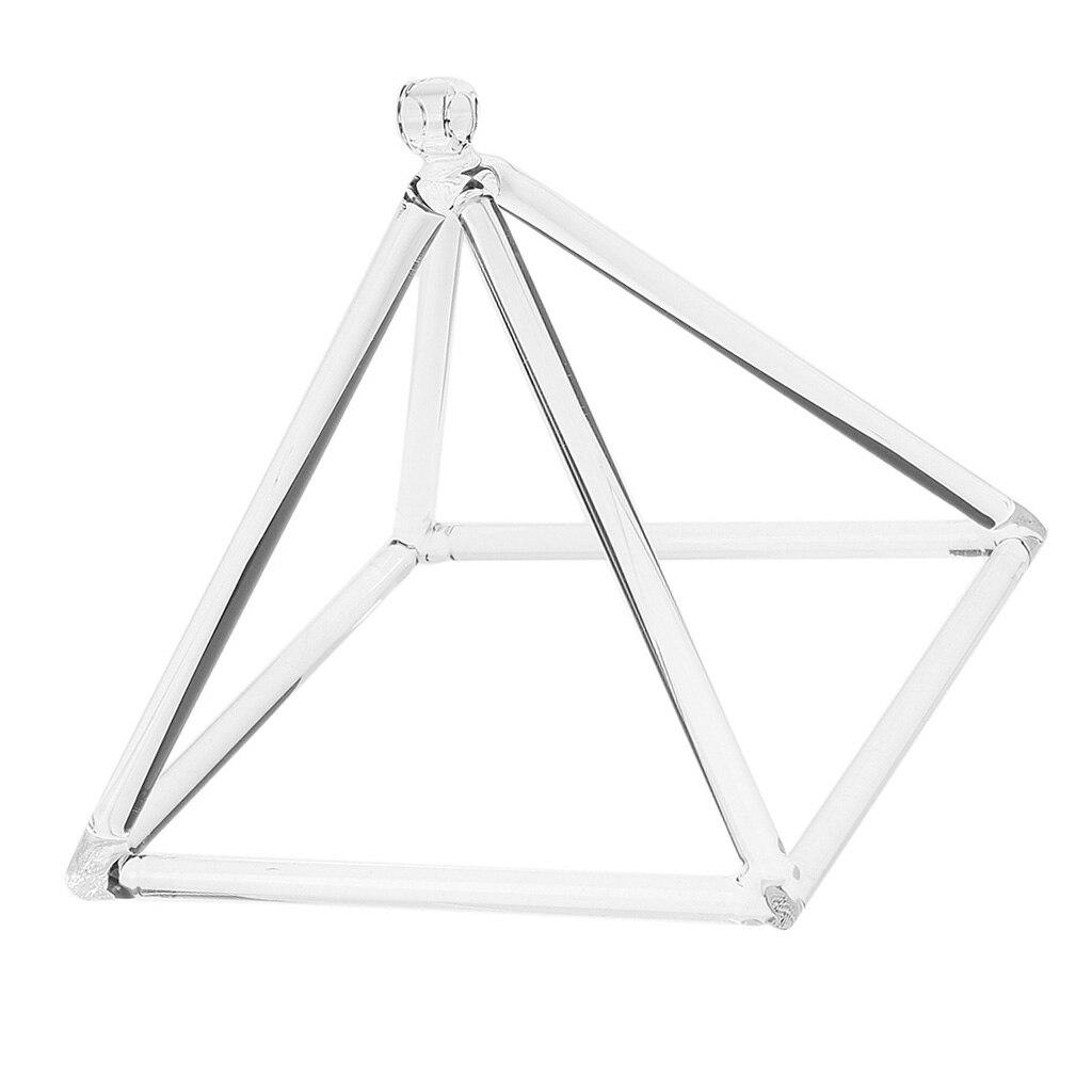 9in quartzo cristal música cantando pirâmide c