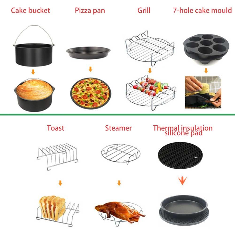 10 pçs comida tong cozimento cesta festa