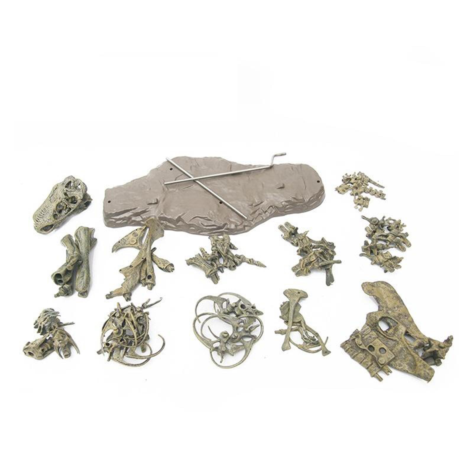 4d dinossauro modelo de montagem brinquedo brinquedos