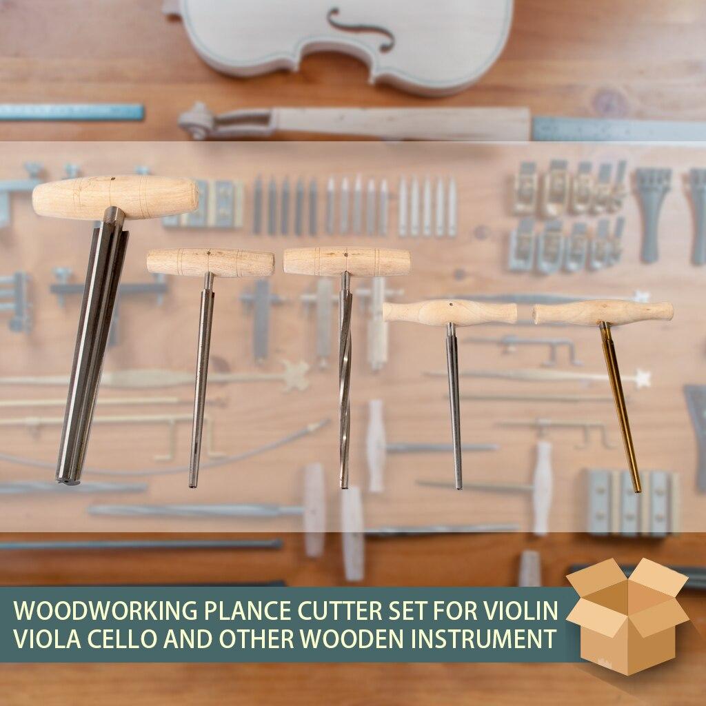 atarraxamento com alça de madeira luthier ferramenta