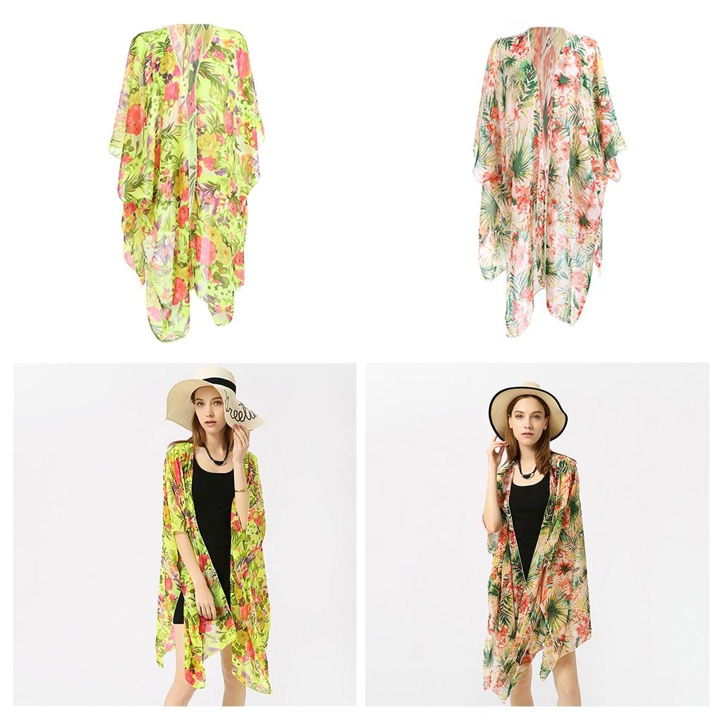 Summer Sexy Beach Cover Up Women Dress Ladies Kaftan Robe Swimwear Kimono Cardigan Beach Wear Swimsuit