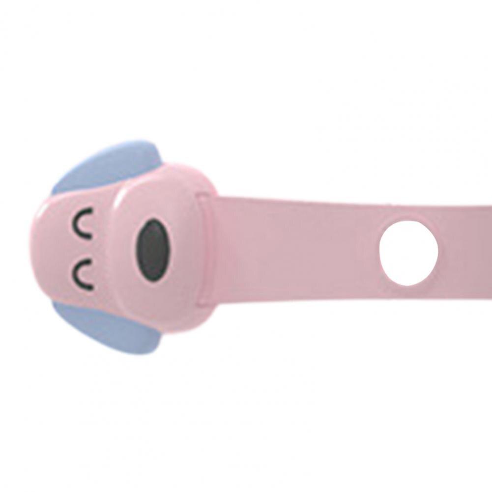 Fechaduras com fivela auto-adesiva, para crianças pequenas,